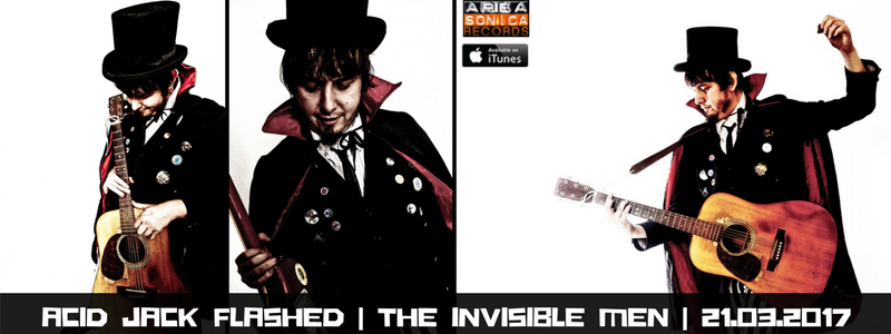 ESCE THE INVISIBLE MEN: IL NUOVO ESPLOSIVO ALBUM DI ACID JACK FLASHED!