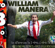 Sabato 28 in Montagnola c'è William Manera per l'ultima data estiva di Dissonanze!