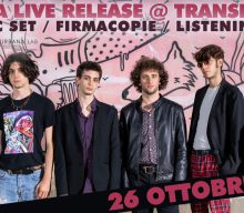 Foschia Live Release al Transformer: Acoustic Set / Firmacopie / Listening Party