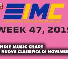 Uscita la nuova Euro Indie Music Chart con tanti artisti targati Areasonica