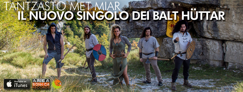 Atmosfere popolari in lingua cimbra per i Balt Hüttar: in radio il loro nuovo singolo Tantzasto Met Miar!