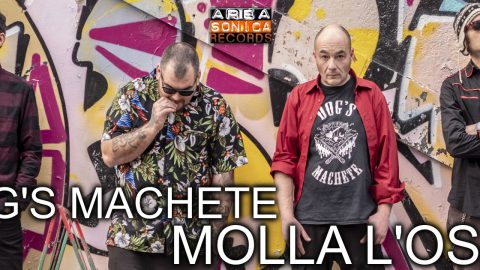 """Rilasciato ufficialmente """"Molla L'Osso"""", il nuovo album dei Dog's Machete: una miscela di rock 'n' roll e punk che vi farà girare la testa."""
