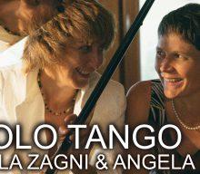Raffaella Zagni e Angela Palfrader presentano Non Solo Tango: pubblicata l'ambiziosa collezione di parafrasi da concerto dei più celebri tanghi della storia. Il 14 gennaio grande presentazione del disco dal vivo in occasione della Coppa del Mondo femminile di Sci Alpino 2019.