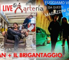 09 NOVEMBRE: UNA SERATA AREASONICA LIVE ESPLOSIVA, SUL PALCO DELL'ARTERĺA SALGONO I RASMAN E IL BRIGANTAGGIO!