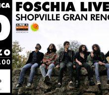 Domenica 10 marzo la band rivelazione Foschia live allo Shopville Gran Reno!
