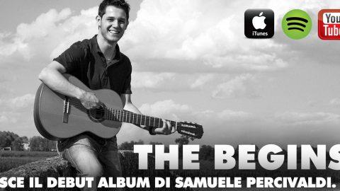 THE BEGINS: UN ALBUM DALLE COLLABORAZIONI ILLUSTRI PER IL DEBUTTO DI SAMUELE PERCIVALDI