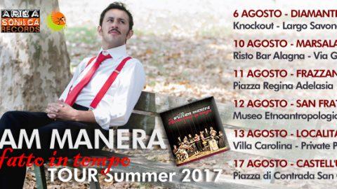 WILLIAM MANERA E LO STRETTO DI MESSINA: CON IL LANCIO DEL NUOVO SINGOLO IL CANTAUTORE SICILIANO APRE LE DANZE DEL TOUR ESTIVO!