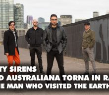 I MAN CITY SIRENS TORNANO IN RADIO CON THE MAN WHO VISITED THE EARTH